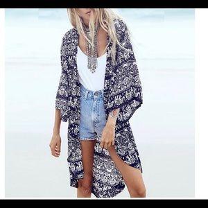 Jackets & Blazers - ‼️Plus Size Kimono‼️ Coming Soon!!